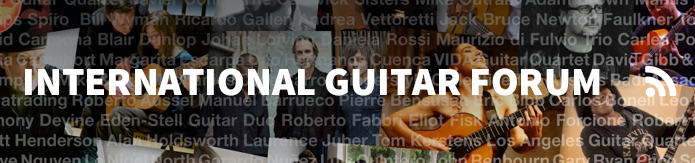 International guitar forum